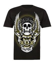 Fatal Skull EagleT Shirt Black  Price €28.00