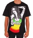 Fatal Rasta T Shirt Black  Our Price: €28.00