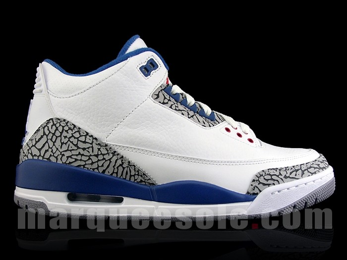 Air Jordan 3 (III) Retro – True Blue (2011) Model: Air Jordan , Air Jordan 3 (III) Colorway: White / True Blue Style Code: 136064-141 Release Date: June 04, 2011 News & Updates: Air Jordan Buy It Now: Available now on ThugLifeSideThugPassion