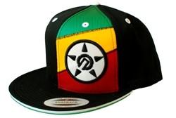 Unit Jah Tri Splice Secret Stash Pocket Snapback Hat Black  Our Price: €29.99