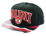 Radii Uni Snapback Hat Black White Red Aztec  Our Price: €27.99