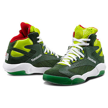 Shaq Attaq Uomo Disponibilità immediata   Invia la prima recensione Color Racing Green/Sonic Green/White/Excellent Red (V61428) PRICE €160.00
