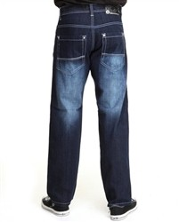 Southpole Relaxed Fit 4187 Big and Tall Denim Jeans Dark Blue  Our Price: €62.00