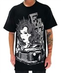 Fatal Clothing Hot Rod T Shirt Black  Our Price: €28.00