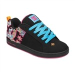 DC Shoes Womens Court Graffik SE Sneakers Black Pink  Our Price: €65.00