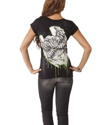 Metal Mulisha Hot Ride V Neck Shirt Black  Our Price: €25.00