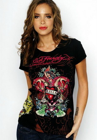 Serial Number:CYI20M13  Material:cotton  Name:ED Hardy  Color:as the picture  Size:S,M,L,XL  Packing:OPP Bag  Note:Please choose size in available options when you checkout.we will ship according to your need. PRICE €90.00