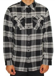Unit Bloom Flannel Long Sleeve Buttondown Shirt Grey  Our Price: €44.99