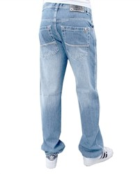 Southpole Relaxed Fit 4187 Big and Tall Denim Jeans Light Blue  Our Price: €62.00