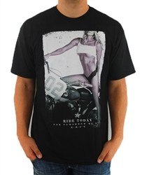 Unit Perfect Ride T Shirt Black  Price €22.99