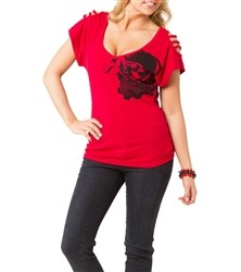 Metal Mulisha Road Gang Dolman Red  Our Price: €28.00