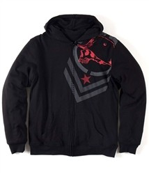 Metal Mulisha Warden Zip Fleece Hoody Black  Our Price: €79.00