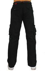 Southpole Cargo Pants with Belt Black  Our Price: €55.00