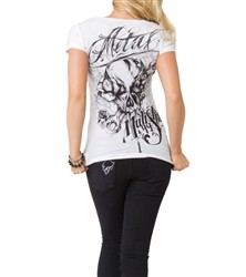 Metal Mulisha Enigmatical Scoop Shirt White  Our Price: €25.00