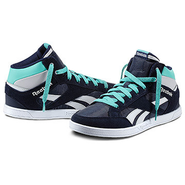 Reebok Royal Court Mid Donna Disponibilità immediata   Invia la prima recensione Color Athletic Navy / White / Steel / Emerald Sea / Reebok (V47321) PRICE €65.00