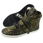 Radii Footwear Straight Jacket Camo Green Leaf Hi Top Sneakers  Our Price: €110.00