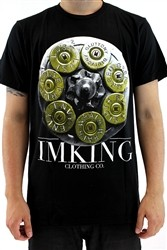 "IMKING ""7"" Mens Crew Neck T Shirt Black  Our Price: €27.99"