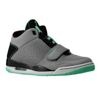 Jordan Flight Club 90's - Men's Cement Grey/Green Glow/Black | Width - D - Medium  Product #: 02661013 Price: €119.99