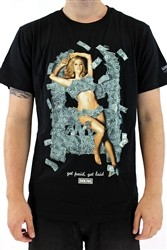 IMKING Get Paid Mens Crew Neck T Shirt Black  Our Price: €27.99