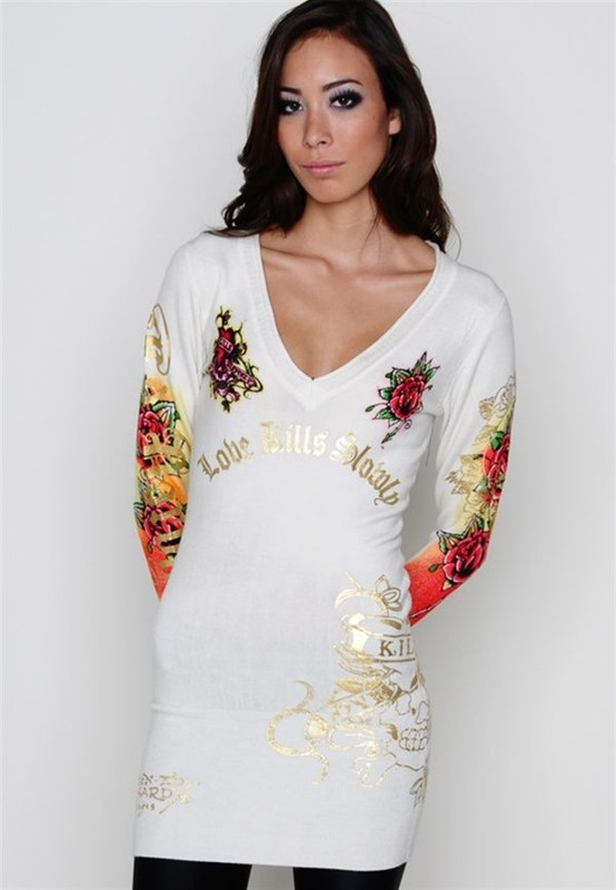 Serial Number:CYI2063  Material:cotton  Name: ED Hardy  Color:as the picture  Size:S.M.L.XL  Packing:OPP bag  Note:Please choose color in available options when you checkout.we will ship according to your need. PRICE €99.00