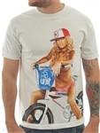 Unit Clothing Skyway T Shirt White  Price €22.99