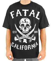 Fatal Skull and Bones T Shirt Black  Our Price: €28.00