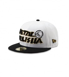 Metal Mulisha Grim New Era Fitted Hat White  Our Price: $34.50