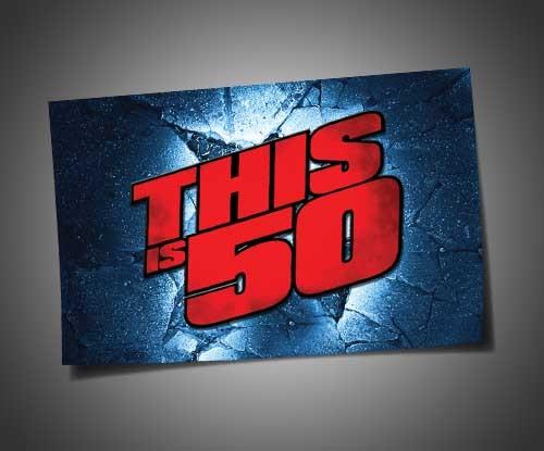 THISIS50 BREAKING GROUND - 4X6 VINYL STICKER  Price: €6.99