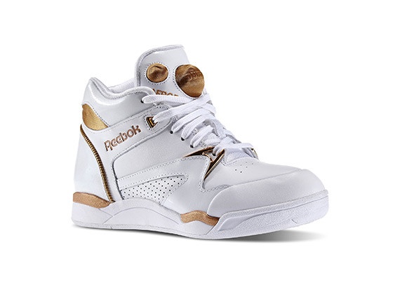 Pump Aerobic Lite Mid FG WOMAN COLOR WHITE/GOLD PRICE €220.00 SIZES:36 37 37.5 38 38.5 39 40 40.5 41 42