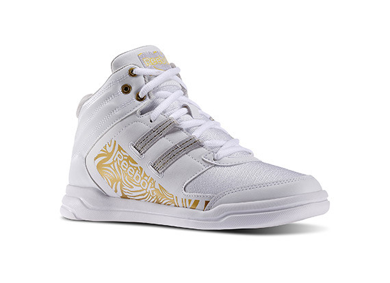 Dance Urmelody Mid Rs WOMAN COLOR WHITE/GOLD PRICE 120.00 SIZES:36 37 37.5 38 38.5 39 40 40.5 41 42
