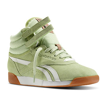 Freestyle Hi Suede WOMAN Color Sea Glass / Chalk / Sandt PRICE €170.00