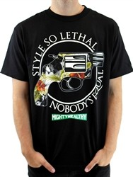 Mighty Healthy Lethal Crew Neck T Shirt Black  Our Price: €25.99