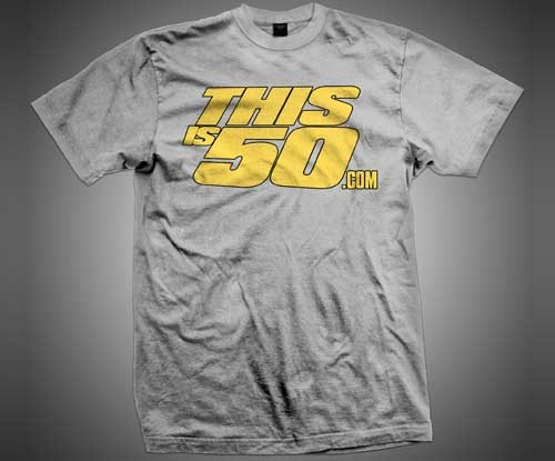 CLASSIC LOGO TEE (GREY/YELLOW) Price: €16.95 Sale Availability: Usually Ships in 24 to 48 Hours