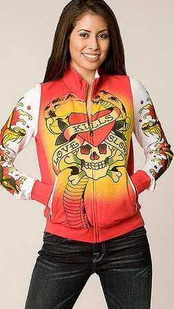Serial Number:CYI20N22  Material:cotton  Name:ED Hardy  Color:as the picture  Size:S,M,L,XL  Packing:OPP Bag  Note:Please choose size in available options when you checkout.we will ship according to your need. PRICE €132.99