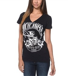 Metal Mulisha Extra Fly V Neck Black  Our Price: €26.00