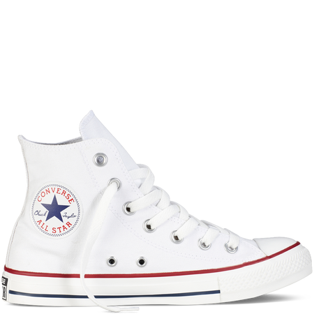 Chuck Taylor Classic Colors Euro 55,00 Color: Optical White / In Stock Runs a half-size large Find Your Fit SIZE: Men 6 / Women 8; Men 6,5 / Women 8,5; Men 7 / Women 9; Men 7,5 / Women 9,5; Men 9 / Women 11; Men 9,5 / Women 11,5; Men 10 / Women 12;