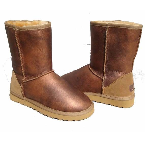 UGG Metallic Classic Short Boots 5842 Copper Sale  €153.99  €95.99 Save: 38% off 296 Units in Stock