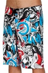 Unit Duke Board Shorts Multi Colored  Our Price: €49.99