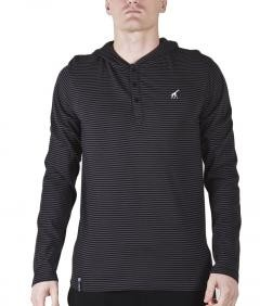 LRG CORE COLLECTION STRIPED HOODED HENLEY €45.0
