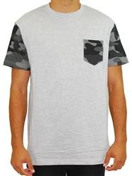 Southpole Camo Pocket Tee Shirt Grey  Our Price: €26.00