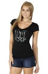 Unit Clothing Ebony T Shirt Black  Our Price: €26.99