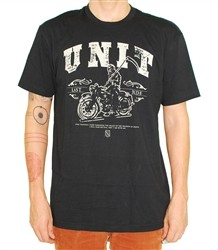 Unit Clothing Last Ride T Shirt Black  Our Price: €24.99
