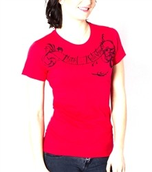 Metal Mulisha Status Crew T Shirt Red  Our Price: €22.00