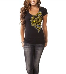 Metal Mulisha Morgan Distant V Neck Black  Our Price: €25.00