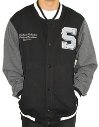 Southpole Letterman S Sweatshirt Black  Our Price: €70.00