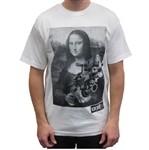 Unit Clothing Mona Lisa T Shirt White  Price €22.99