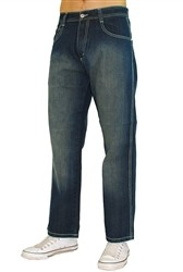 Southpole Basic Sandblast Denim Jeans Dark Blue  Our Price: €50.00
