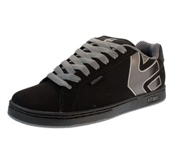 Etnies Fader Shoes Black/Silver  Our Price: €65.00