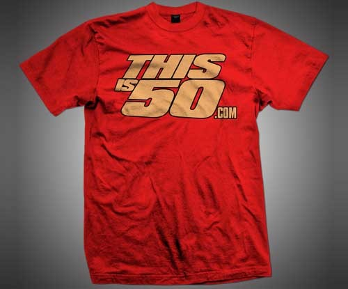 CLASSIC LOGO TEE (RED/GOLD)  Price: €16.95 Sizes: Large, X-Large, 2X, 3X