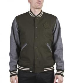 LRG NATURAL GROWN THRILL LETTERMAN €160.00